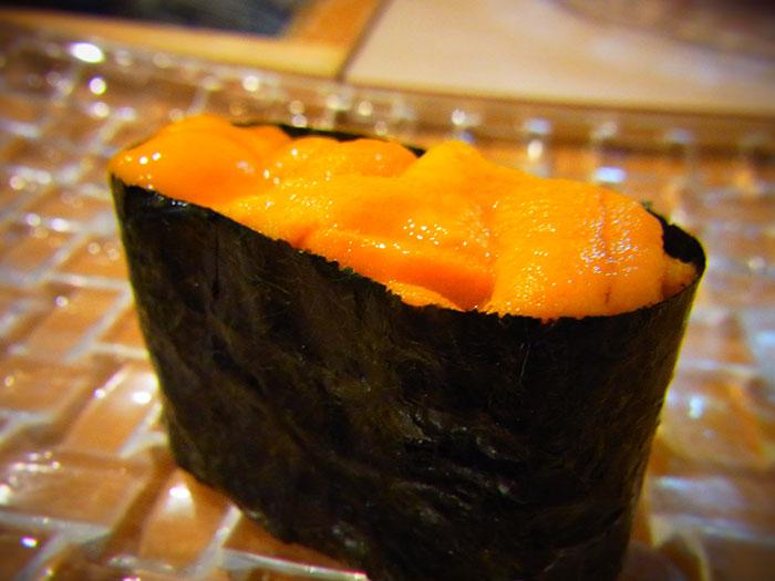 小樽の寿司 うに