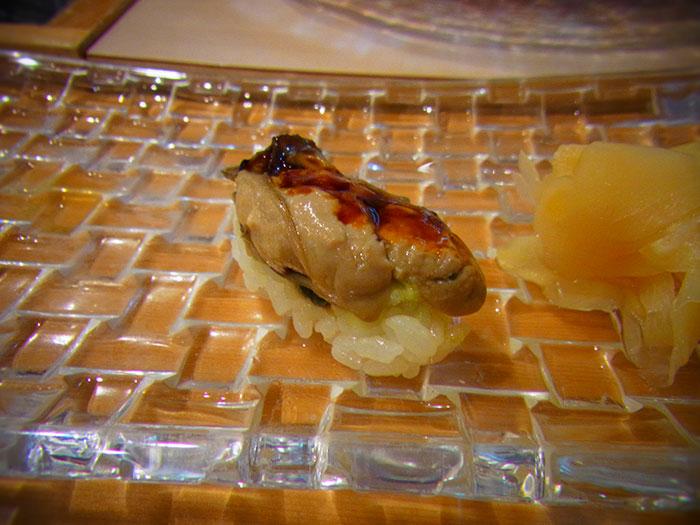 小樽の寿司 牡蠣