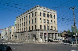 旧三菱銀行小樽支店(小樽運河ターミナル)