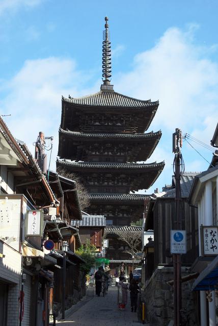 八坂の塔法観寺(写真提供:Photolibrary)