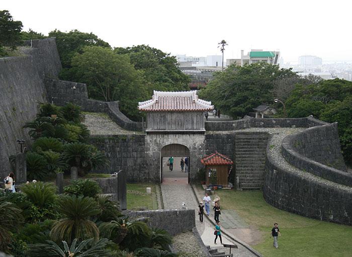 首里城城壁の画像