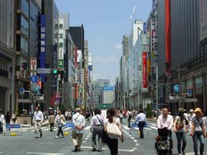 東京 銀座 中央通り