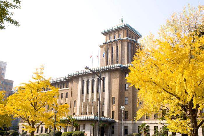神奈川県庁(キングの塔) 写真提供:横浜観光情報サイト
