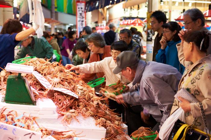 近江町市場(写真提供:金沢市)