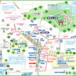 倉敷 美観地区map