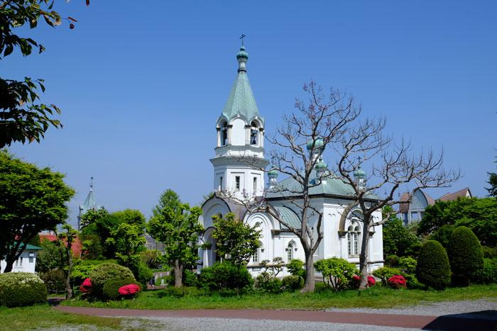 函館のシンボル ハリストス正教会