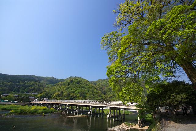 嵯峨野・嵐山 渡月橋