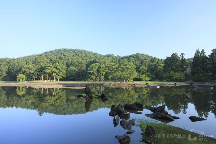 毛越寺 大泉が池