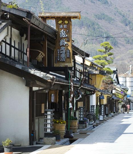 北国街道町並み(写真提供:長野県観光機構)