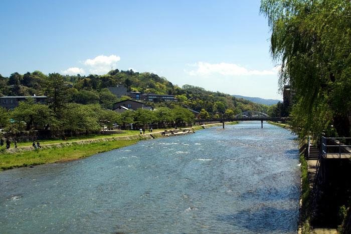 浅野川(写真提供:金沢市)