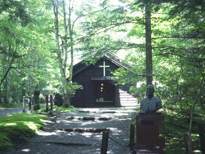 ショー 氏記念礼拝堂(写真提供:長野県観光機構)