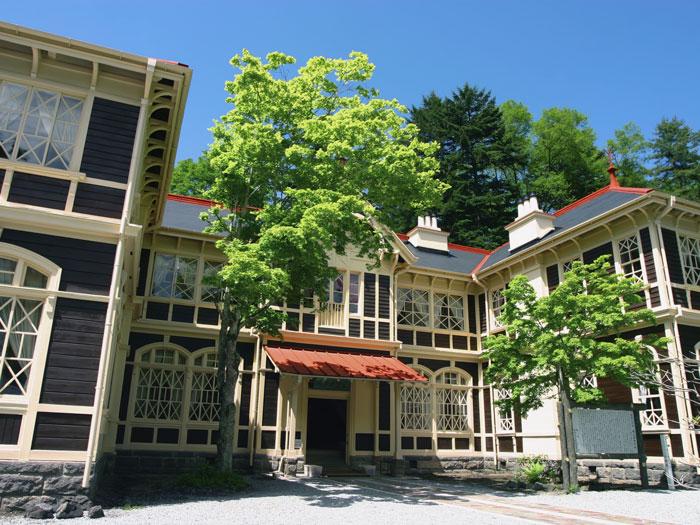 旧三笠ホテル(写真提供:長野県観光機構)