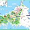 神奈川 江の島map