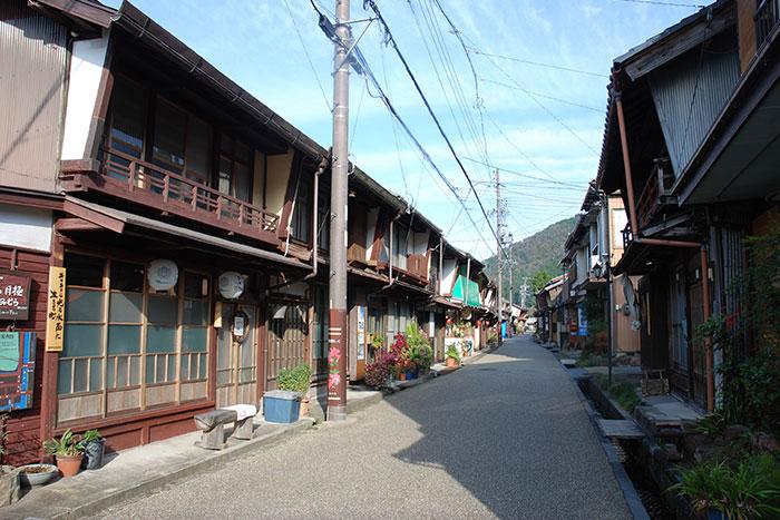 古い町並み/柳町(写真提供:岐阜県観光連盟)