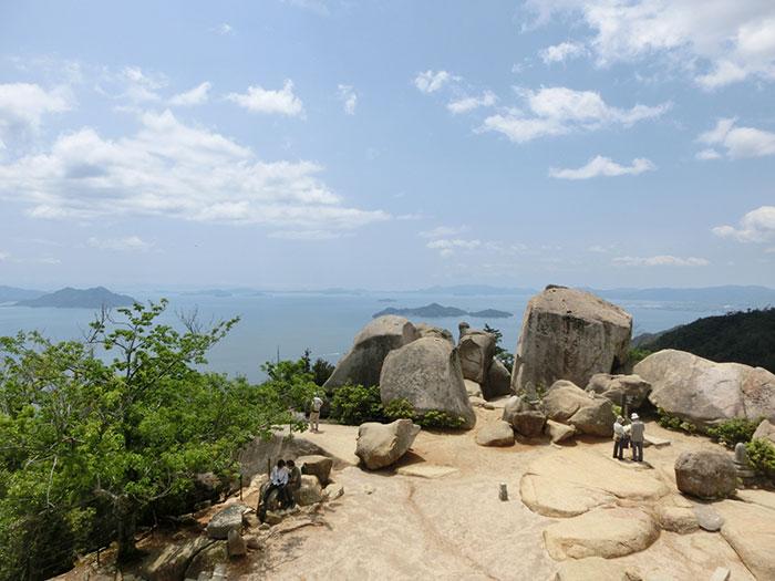 宮島 弥山展望台からの眺め(写真提供:広島県)