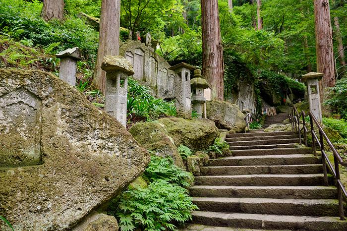 山寺 石段(写真提供:山形県)
