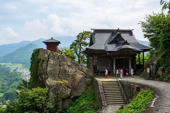 山寺 五大堂(写真提供:山形県)