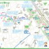 東京 王子・飛鳥山公園map(タップで大きい画像が開きます。PDFは 最下部にあります)