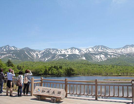 知床五湖(写真提供:知床斜里町観光協会)