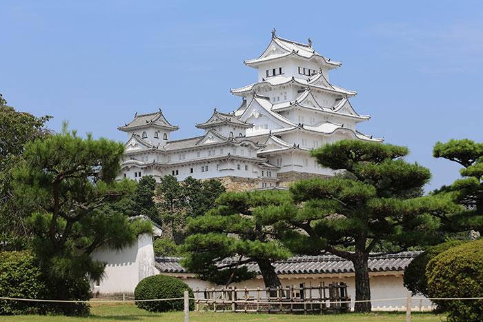 西の丸から見た姫路城(写真提供:姫路市)