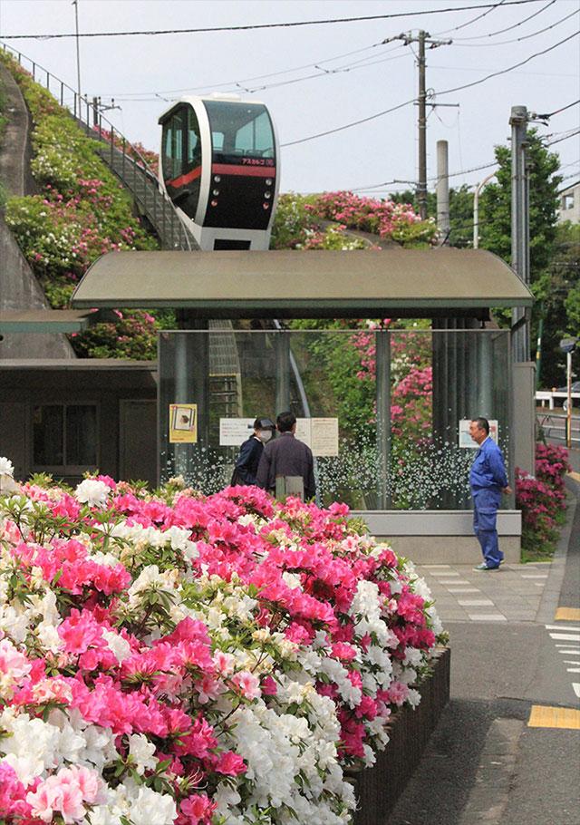 あすかパークレール(写真提供:東京北区)