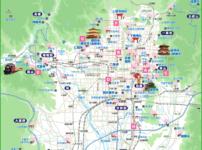 京都全体 さくらmap(タップで大きい画像が開きます。PDFは 最下部にあります)